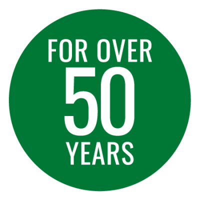 Fifty Years Badge